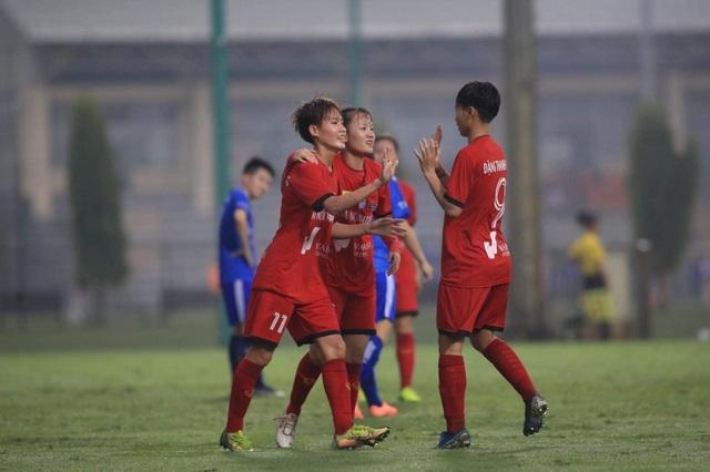 Giải bóng đá Nữ Cúp Quốc gia 2021: Than KSVN đại thắng - 2