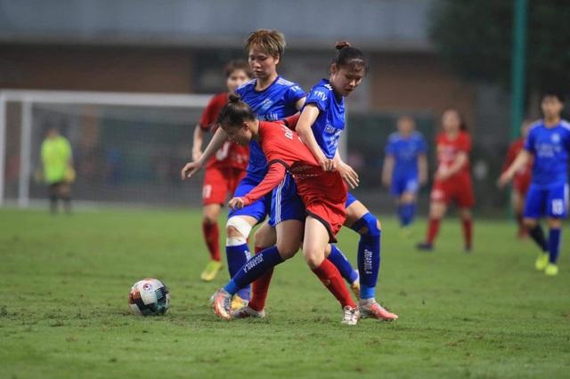 Giải bóng đá Nữ Cúp Quốc gia 2021: Than KSVN đại thắng - 1