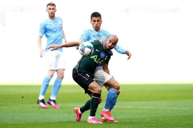Đánh bại Tottenham, Man City lần thứ 8 vô địch Carabao Cup - 10