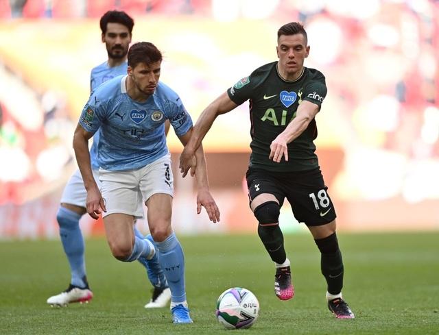 Đánh bại Tottenham, Man City lần thứ 8 vô địch Carabao Cup - 5