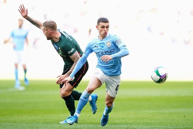 Đánh bại Tottenham, Man City lần thứ 8 vô địch Carabao Cup - 8