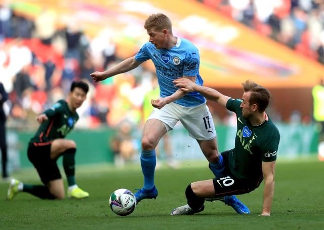Đánh bại Tottenham, Man City lần thứ 8 vô địch Carabao Cup - 7