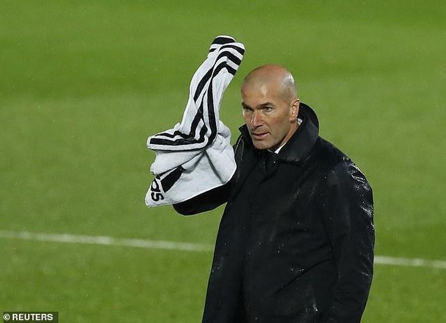 Zidane vẫn nói cứng về khả năng vô địch La Liga sau trận hòa thất vọng - 2