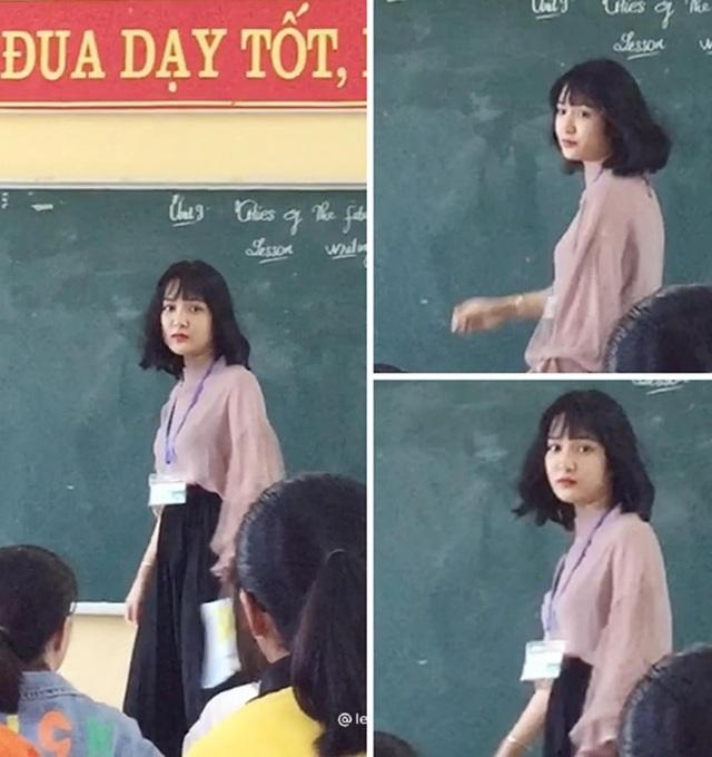 Bị chụp lén, cô giáo Thanh Hóa nổi tiếng bất thình lình vì quá xinh - 1