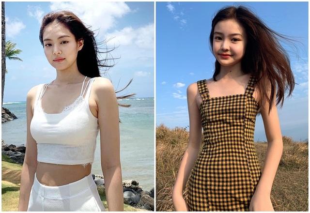 Cô gái xinh đẹp được so với công chúa Jennie nhóm nhạc Blackpink - 2