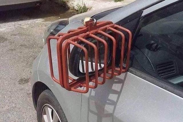 Tài xế Việt bảo vệ gương ô tô tới mức cực đoan - Vì đâu nên nỗi? - 2