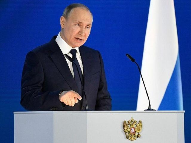 Thông điệp cứng rắn của ông Putin giữa căng thẳng biên giới với Ukraine - 1