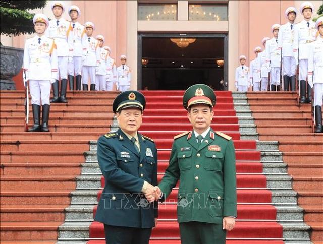 Bộ trưởng Bộ Quốc phòng Trung Quốc thăm chính thức Việt Nam - 2