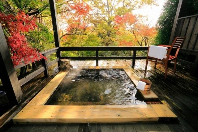 Bồn tắm lộ thiên - Tinh hoa suối khoáng nóng Nhật Bản - 3