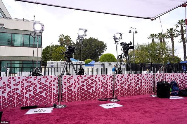 Minh tinh Hollywood mặc váy khoe ngực phẳng lì trên thảm đỏ Oscar 2021 - 35