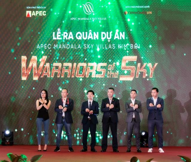 Warriors of the sky - Bùng nổ sự kiện kick-off dự án Apec Mandala Sky Villas Kim Bôi - 3
