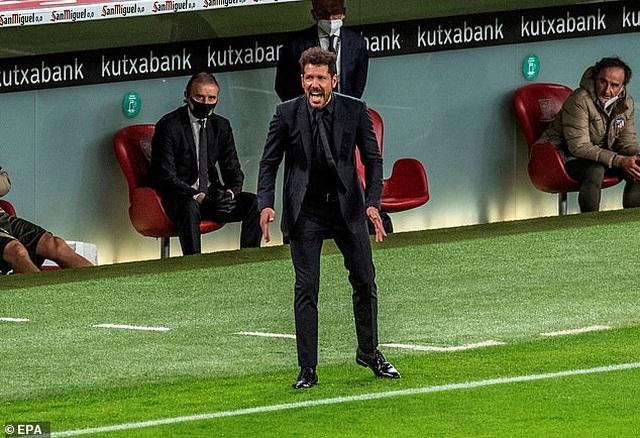 Thua đau Bilbao, Atletico có nguy cơ mất ngôi đầu bảng vào tay Barcelona - 1