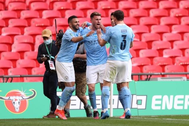 Đánh bại Tottenham, Man City lần thứ 8 vô địch Carabao Cup - 2