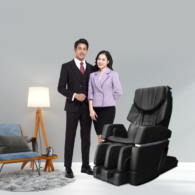 Ghế massage Okasa: Chúng tôi cạnh tranh bằng sự tận tâm - 1