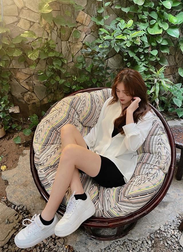 Cận cảnh nhan sắc xinh như mộng của bạn gái cầu thủ Thành Chung - 9