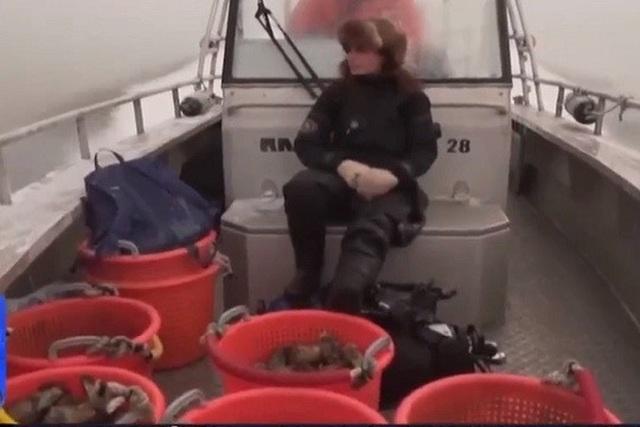 Cô gái Thụy Điển theo đuổi nghề săn hàu ngon nhất thế giới - 1