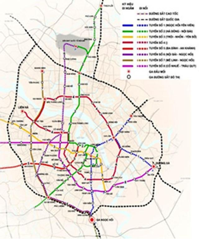 Hà Nội dừng giao Vingroup nghiên cứu tuyến đường sắt đô thị số 2 - 1