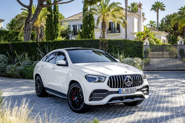 Mercedes-AMG GLE Coupe giá 5,35 tỷ đồng - Cạnh tranh BMW X6, Cayenne Coupe - 1