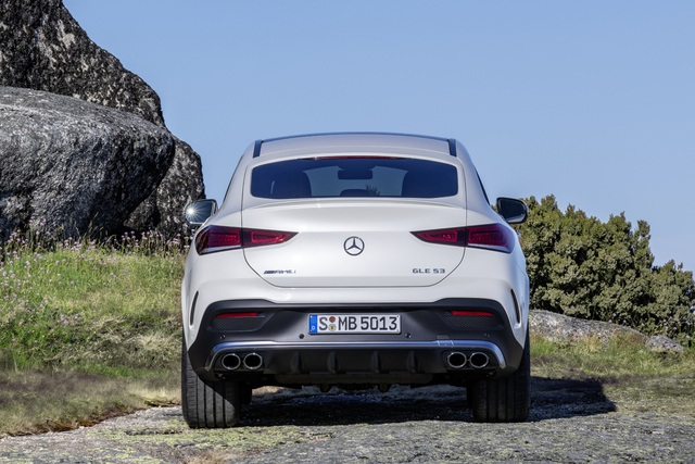 Mercedes-AMG GLE Coupe giá 5,35 tỷ đồng - Cạnh tranh BMW X6, Cayenne Coupe - 2