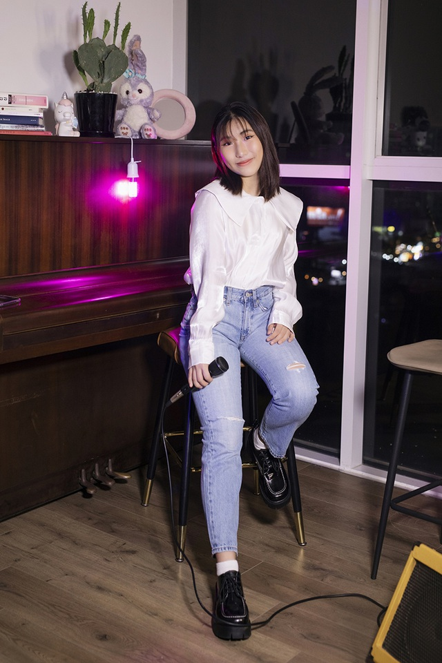 Ju Uyên Nhi gây sốt khi cover bản hit bằng tiếng Hàn - 4