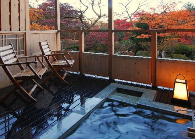 Tắm nước khoáng nóng từ núi Hakone tại ryokan cổ 130 tuổi - 2