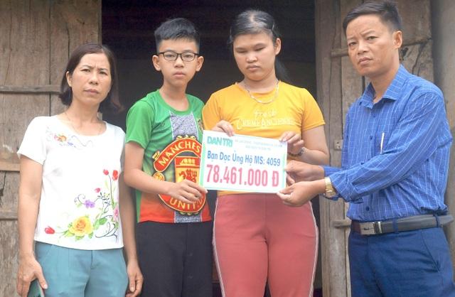 Bạn đọc tiếp tục giúp đỡ người mẹ mù xin ánh sáng cho con gần 80 triệu đồng - 2