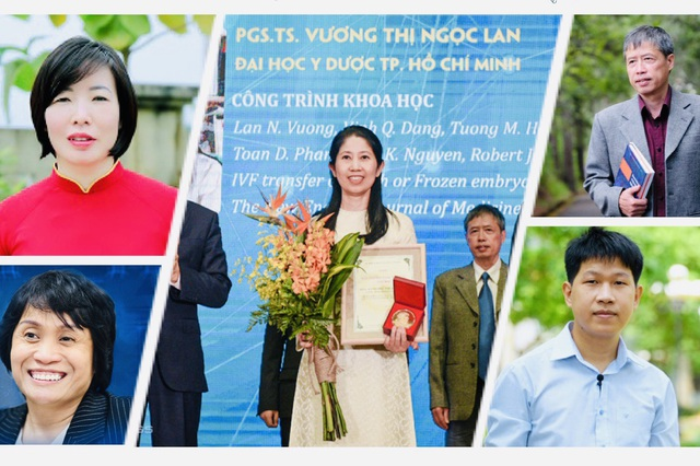 5 người Việt lọt top 100 nhà khoa học xuất sắc nhất Châu Á - 1