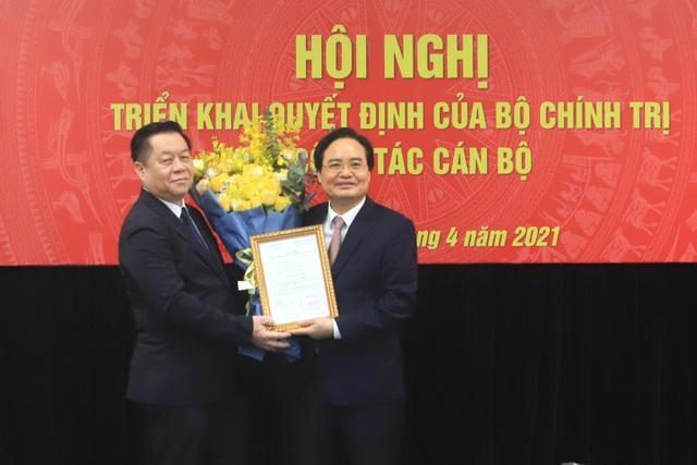 Ông Phùng Xuân Nhạ làm Phó Trưởng Ban Tuyên giáo Trung ương - 2