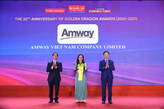 Amway Việt Nam được vinh danh là DN FDI 10 năm kinh doanh thành công liên tục ở Việt Nam - 1