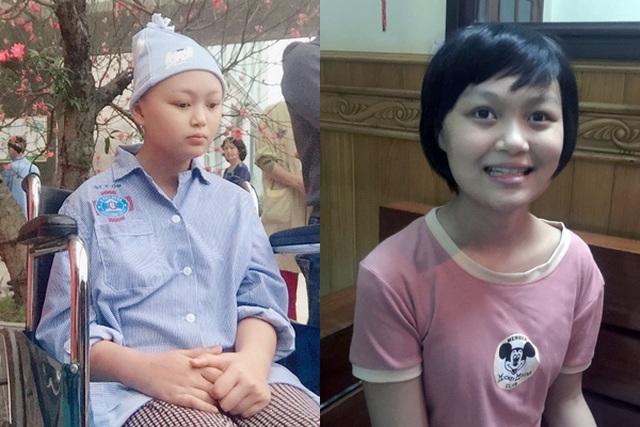 Cô bé 14 tuổi bị ung thư mù 2 mắt khao khát thấy ánh sáng - 1