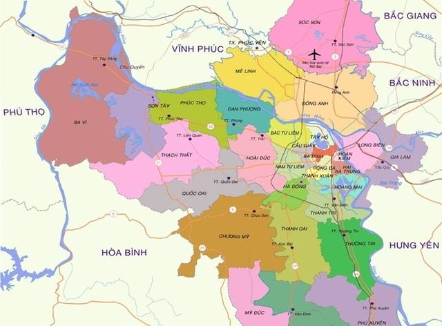 Hà Nội sẽ có thêm 8 quận: Liệu xảy ra cơn sốt đất mới? - 1