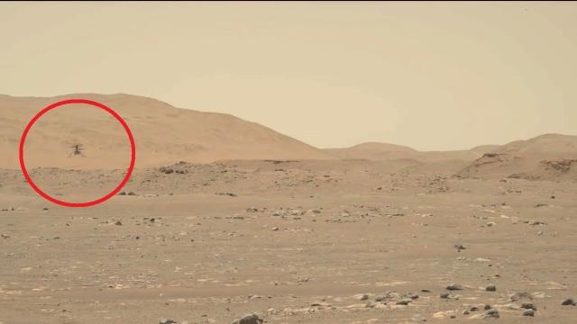 Trực thăng của NASA lập kỷ lục về khoảng cách, tốc độ khi bay trên sao Hỏa - 1