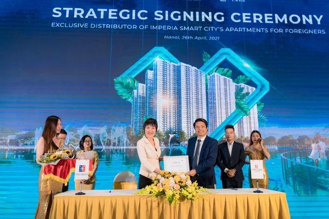 Lễ ký kết hợp tác và phân phối quỹ căn nước ngoài dự án Imperia Smart City - 1