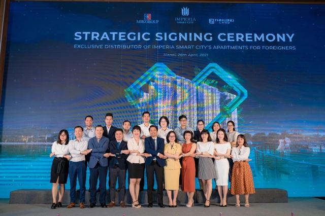 Lễ ký kết hợp tác và phân phối quỹ căn nước ngoài dự án Imperia Smart City - 3