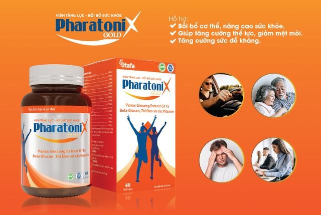 PharatoniX Gold - giúp tăng cường sức đề kháng, giảm mệt mỏi - 5