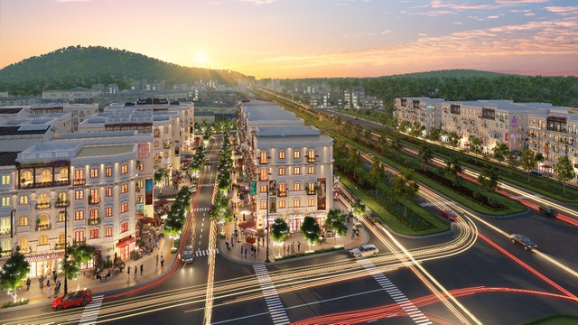 Newstarland phân phối độc quyền giai đoạn 2 dãy Shophouse Gateway Sun Grand City New An Thoi - 2