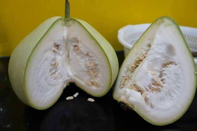 Giàn bầu cho trái khổng lồ nặng 15kg/ quả độc lạ ở Hải Phòng - 6