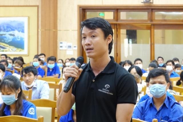 Bí thư Tỉnh ủy Quảng Ngãi đối thoại về chính sách việc làm, khởi nghiệp - 2
