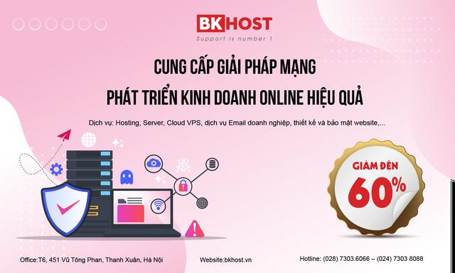 BKHOST - 7 năm tăng trưởng mạnh mẽ với các dịch vụ giải pháp mạng - 1