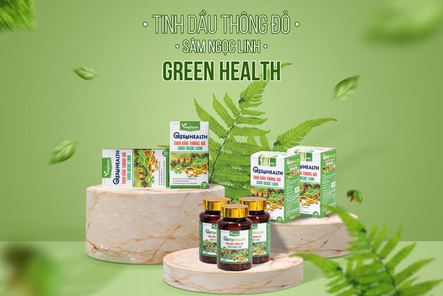 GREEN HEALTH - Sự kết hợp tinh hoa từ Tinh dầu Thông Đỏ và Sâm Ngọc Linh - 1
