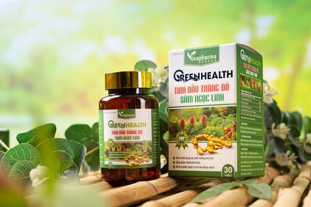 GREEN HEALTH - Sự kết hợp tinh hoa từ Tinh dầu Thông Đỏ và Sâm Ngọc Linh - 2