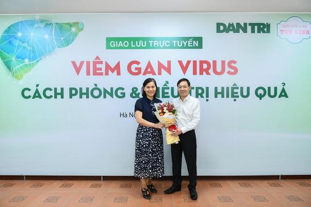 Tọa đàm trực tuyến: Viêm gan virus - Cách phòng và điều trị hiệu quả - 4