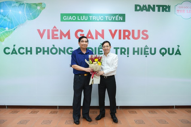 Tọa đàm trực tuyến: Viêm gan virus - Cách phòng và điều trị hiệu quả - 3