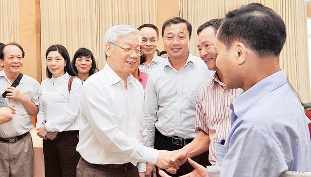 Tổng Bí thư Nguyễn Phú Trọng ứng cử tại 3 quận trung tâm của Hà Nội - 1