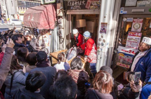 Có gì trong show diễn cắt cá ngừ khiến người Tokyo phát cuồng - 1