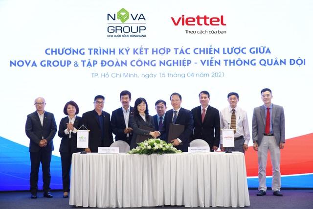 Đồng hành cùng Viettel, NovaGroup sẽ nắm bắt cơ hội thị trường nhanh hơn - 1