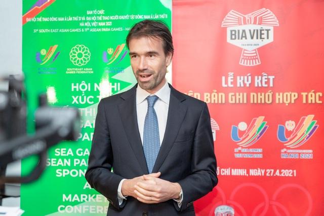 Bia Việt xúc tiến tài trợ SEA Games 31 và Para Games 11 - 2