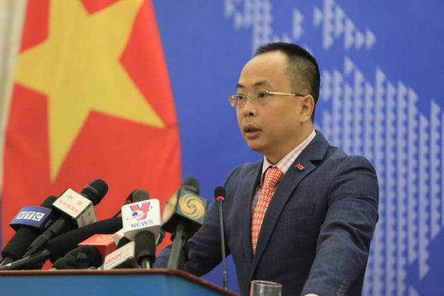 Bộ Ngoại giao thông tin về hoạt động của tàu sân bay Trung Quốc - 1