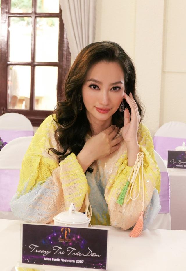 Trương Tri Trúc Diễm trở thành giám khảo Hoa hậu Trái đất Việt Nam - 3