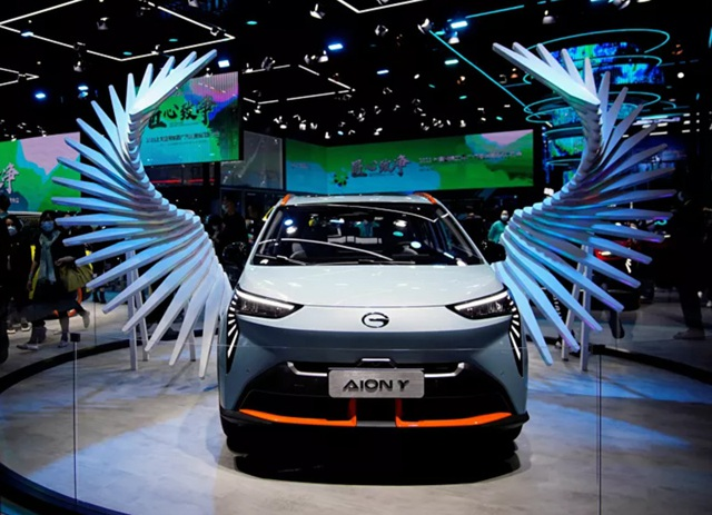 Lạc vào thế giới tương lai tại triển lãm ô tô Thượng Hải 2021 - 3